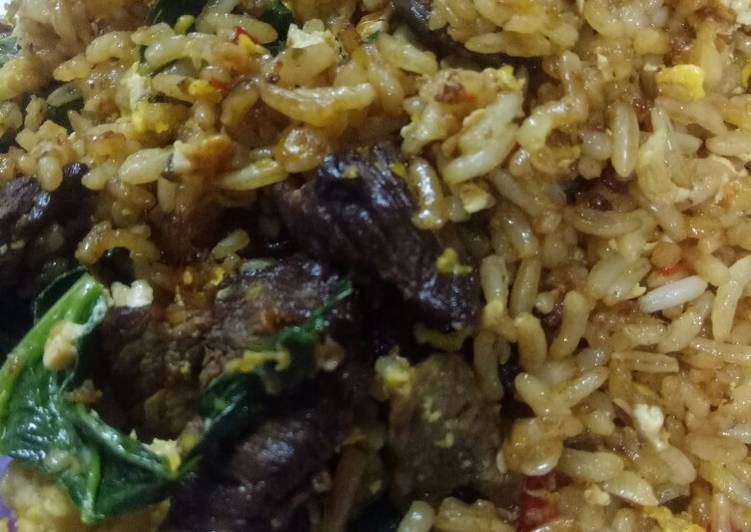 Resepi:  Nasi Goreng Daging  Termudah
