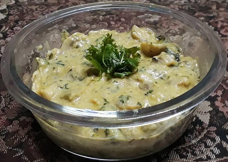 Cheese & garlic mushroom