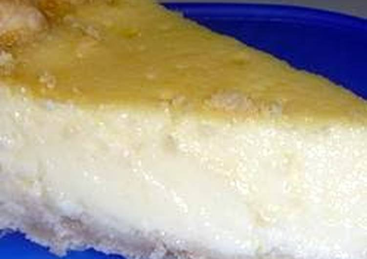 Restaurant Style Egg Custard Pie Recipe By Avonman999 Cookpad