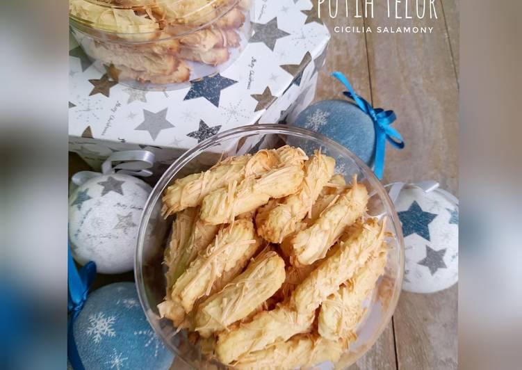 Cheese Cookies Putih Telur