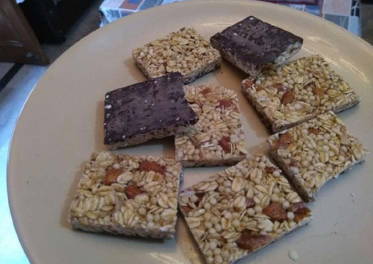 Almonds & Dark chocolate bar