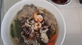 Hình ảnh món Hủ tiếu hải sản