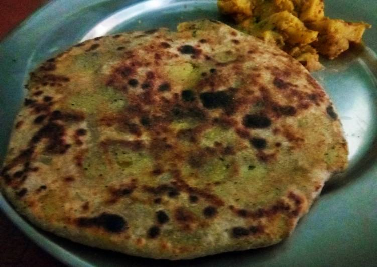 Aloo Paratha - Laurie G Edwards