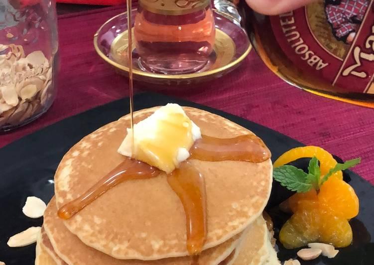 Resep Fluffy Pancake Favorit