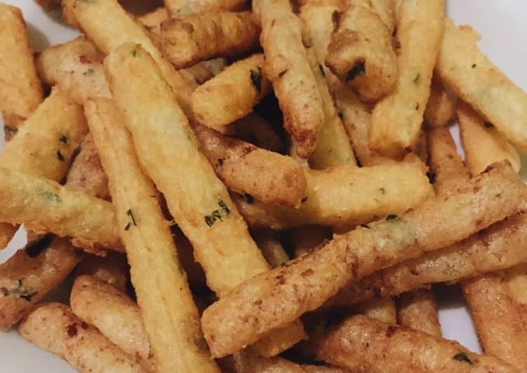Cheese Fries Stick / Stik Kentang Goreng Keju