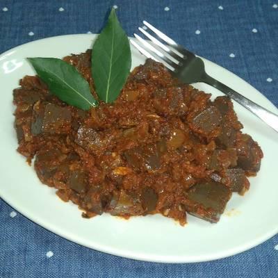 Sangre Frita Con Tomate Y Cebolla Receta De Enbrujada Cookpad