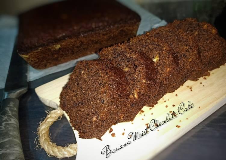 Banana Moist Chocolate Cake