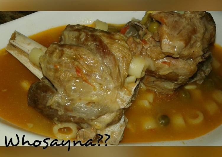 Simple Way to Prepare Speedy Whosayna's Mutton Soup