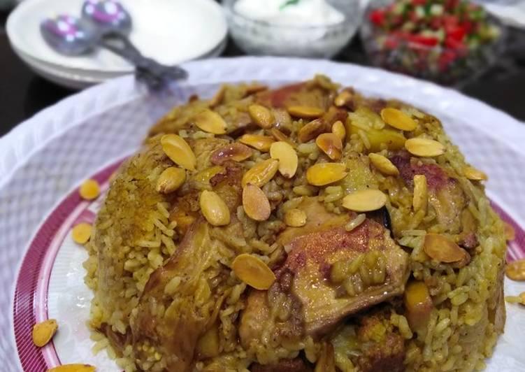 ألذ مقلوبة فلسطينية بالصور من Bayans Kitchen كوكباد