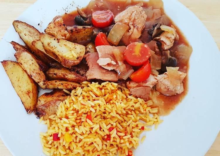 Chicken & bacon casserola