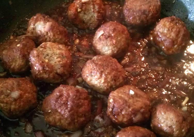 teriyaki glazed meatballs