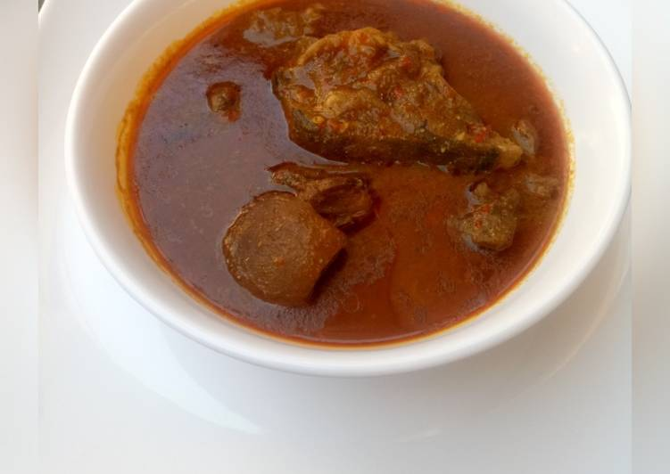 10 Minute Dinner Ideas Quick Dried okro soup