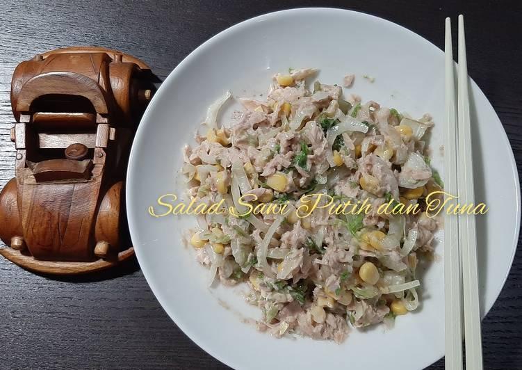 Salad Sawi Putih