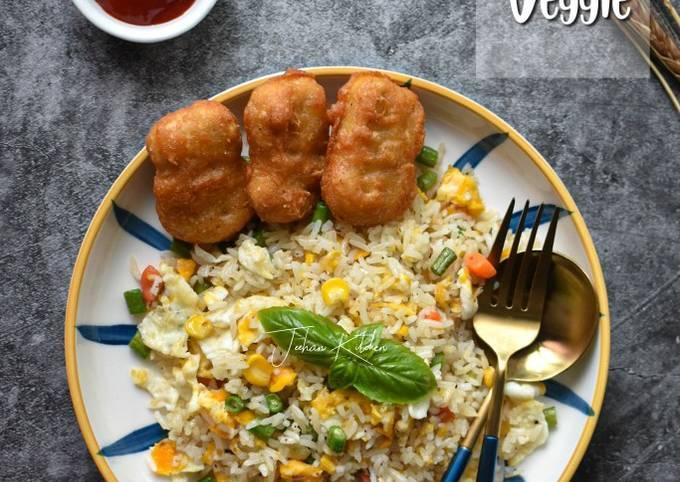 Nasi Goreng Telur & Veggie