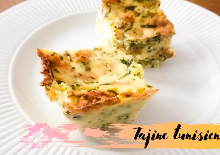 recette Tajine tunisien délicieux
