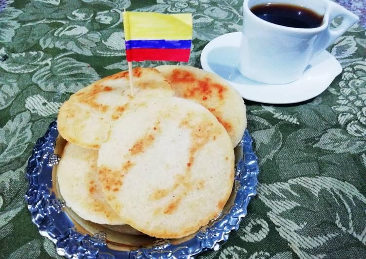 Arepas 100 Colombianas Receta De Valentina Cocina Casera Cookpad