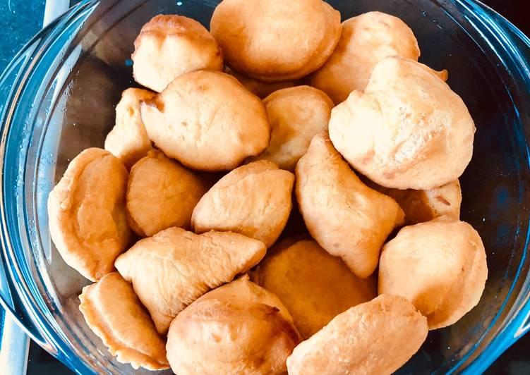 Recipe of Speedy All purpose flour mandazi - with baking powder
