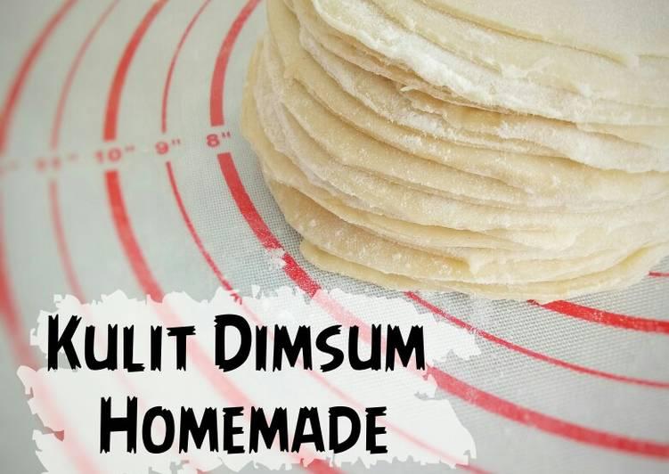 Kulit Dimsum Homemade