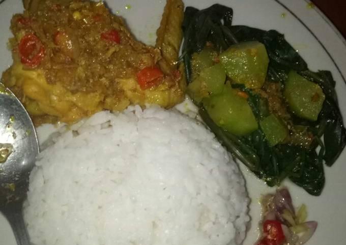 Langkah-Langkah Membuat Ayam betutu kuah khas bali mantul pedesnya…