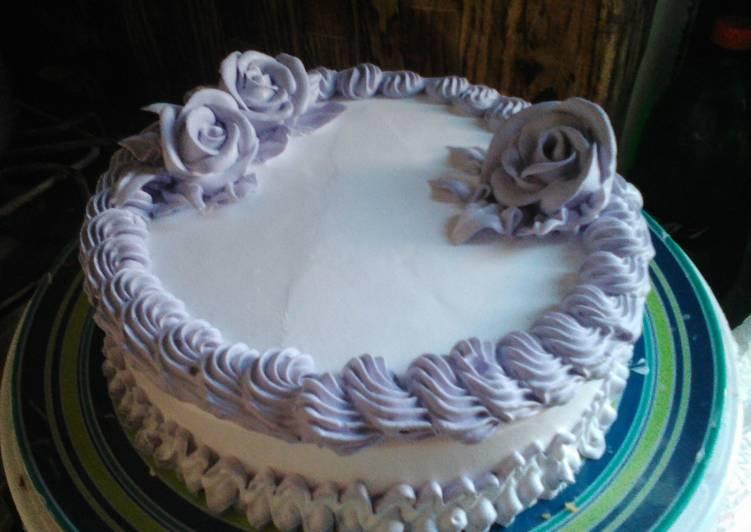 Simple ice cake