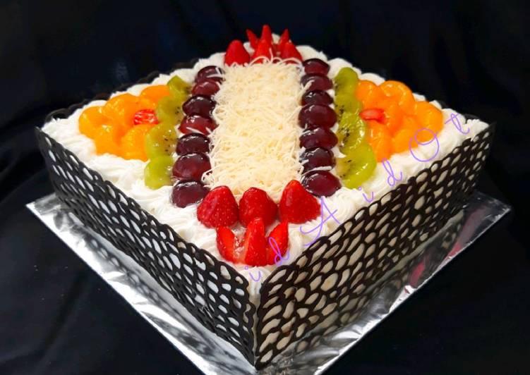 Resep Membuat Pagar Coklat Tanpa Cetakan Oleh Dapur Shabyra Cookpad
