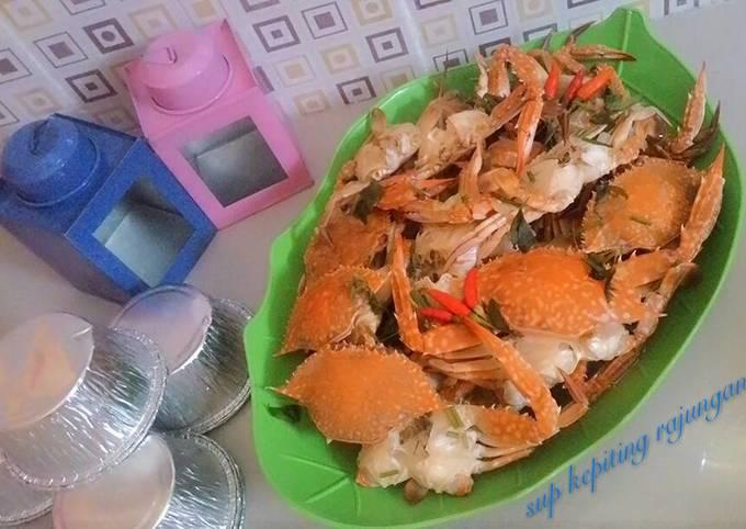 Resep Sup kepiting rajungan yang Sempurna