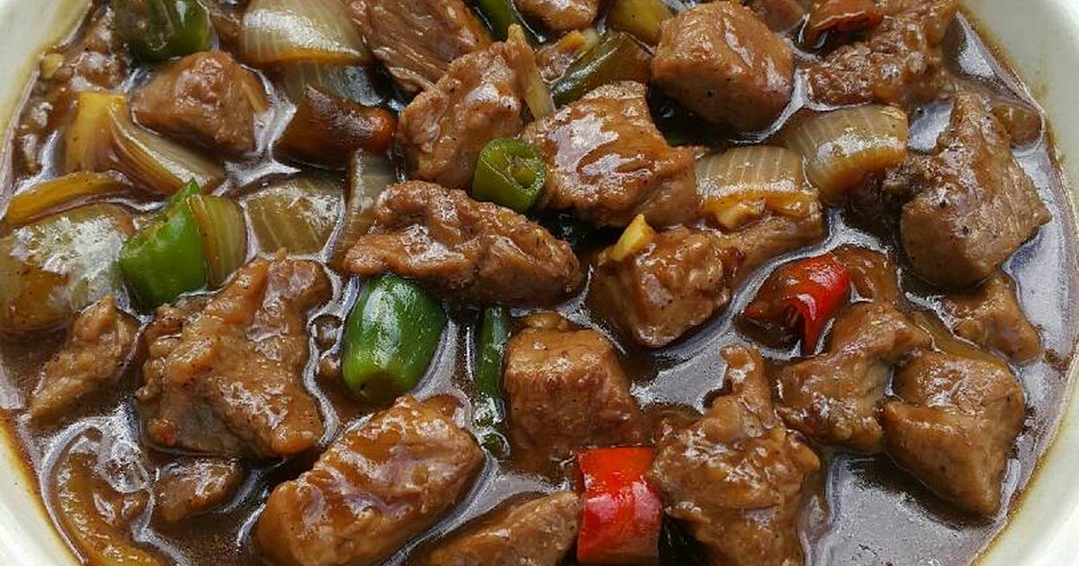 Resep Sapi Lada Hitam Oleh Xander S Kitchen Cookpad