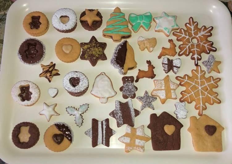 Biscotti natalizi per tutti i gusti!🎄