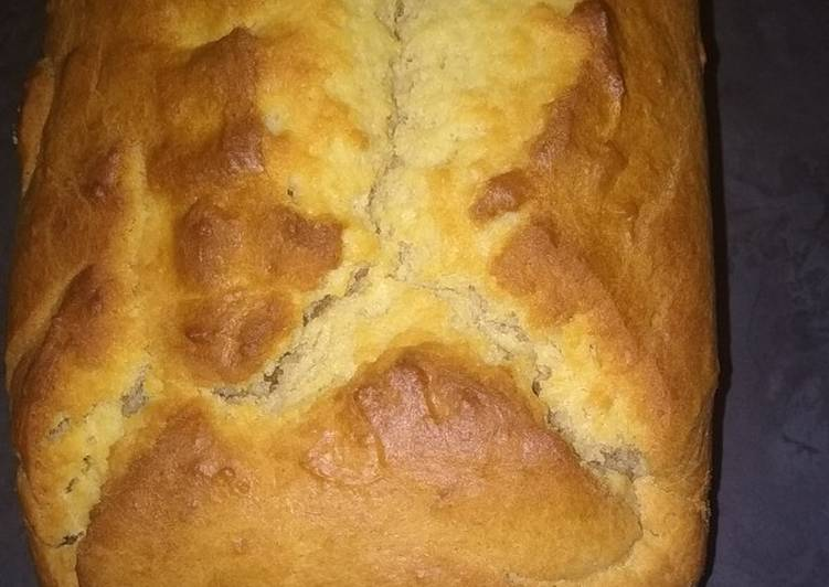 How to Prepare Speedy Eggless Vanilla Loaf