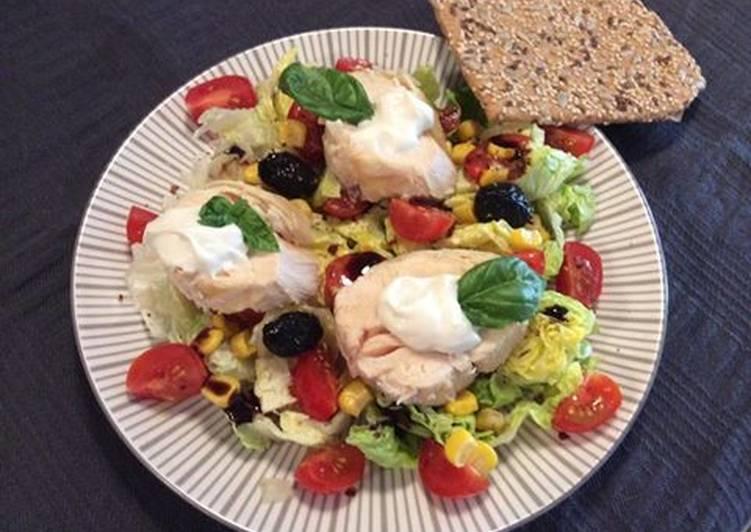 Recette Des Salade de poulet au basilic