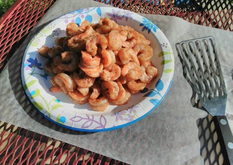 Hilljack's grilled marinated shrimp