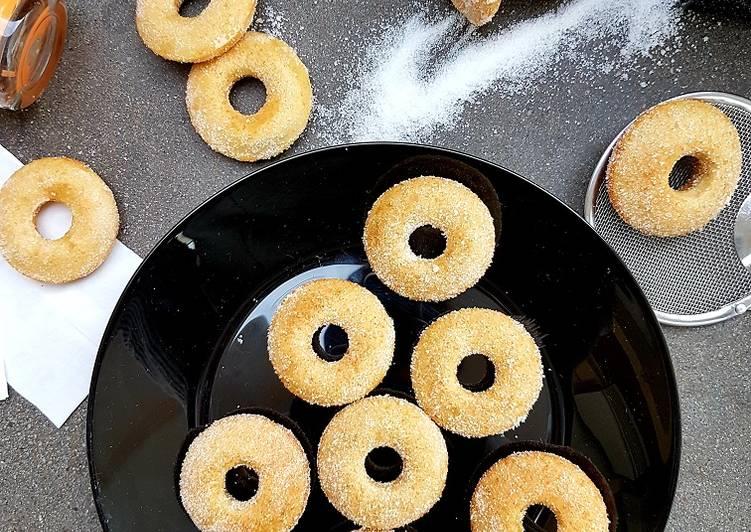 Minis donuts au sucre
