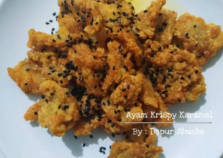 Ayam Krispy Karamel (Serba 3 Sendok Makan)