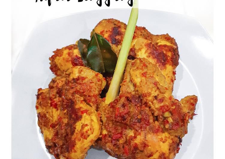 Ayam Singgang (Ayam Bakar Padang)