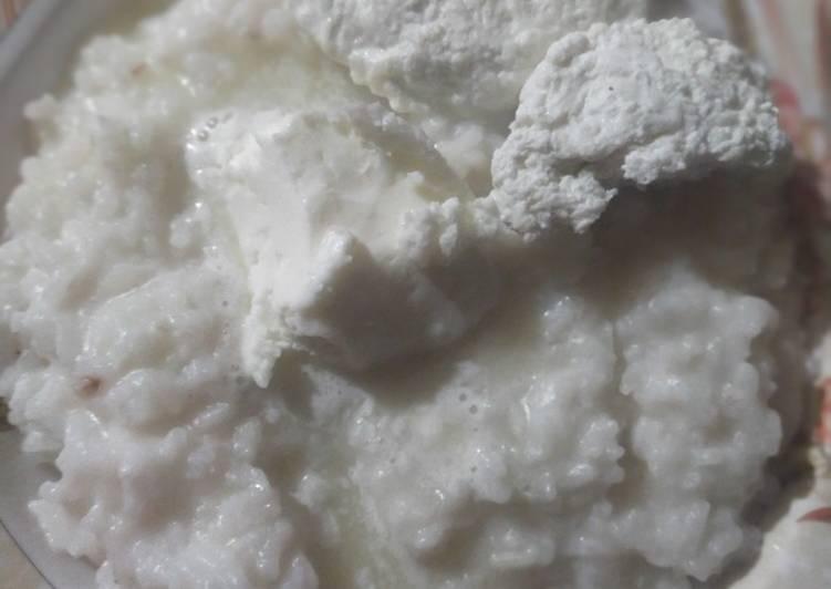 Klarri baatt(buttermilk rice)
