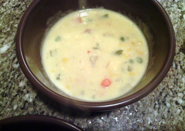 Grandma's cheese soup