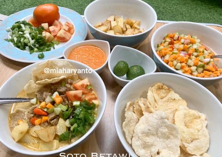 Resep Soto Betawi (Kuah Santan Susu) Yang Populer Sedap