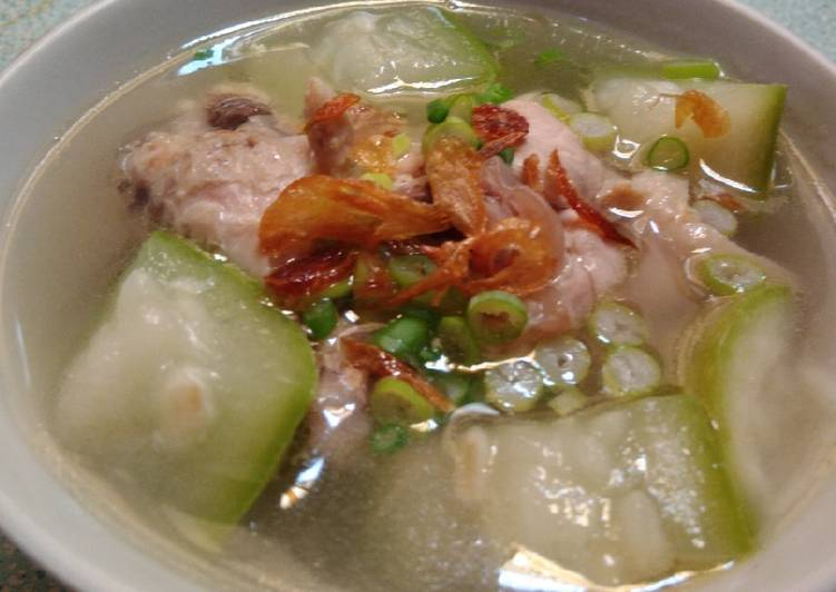Resep Sup Ayam Labu Air Bikinramadanberkesan Oleh Dewi Dapur Cookpad