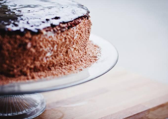 Mon super gâteau au chocolat et potiron