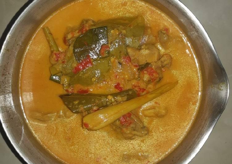 Resep Gulai Ayam Pedas Simple !!! Anti Gagal