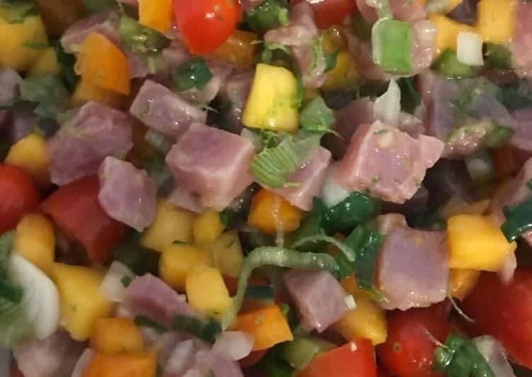 Recette Des Ceviche de thon
