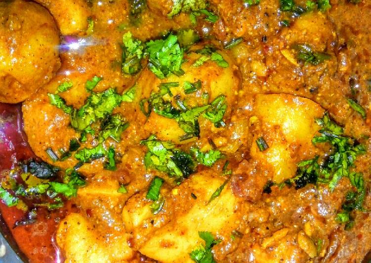 Chettinad potato curry