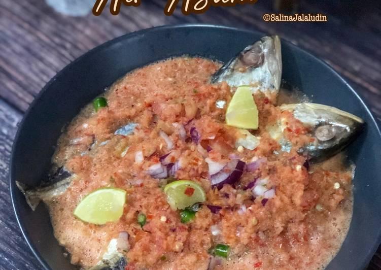 Ikan Kembung Air Asam - resepipouler.com