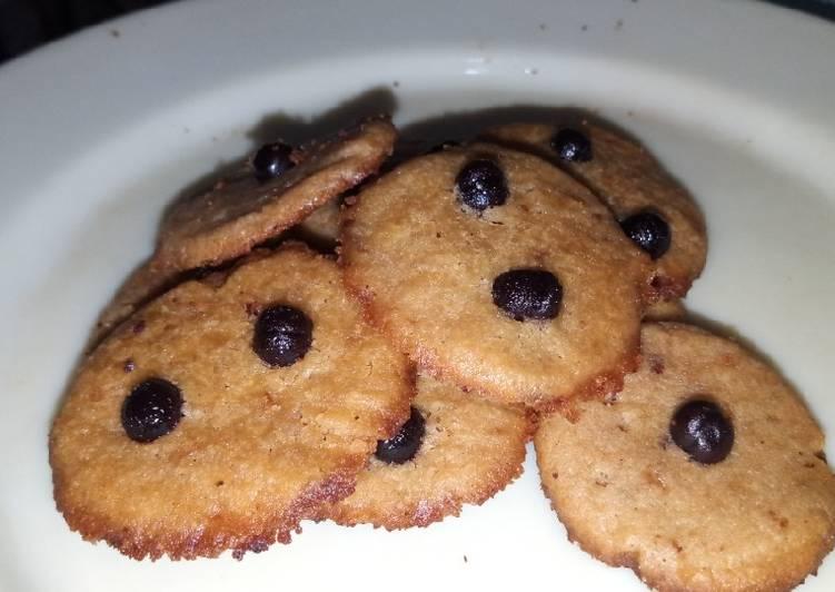 Cookies choco no oven