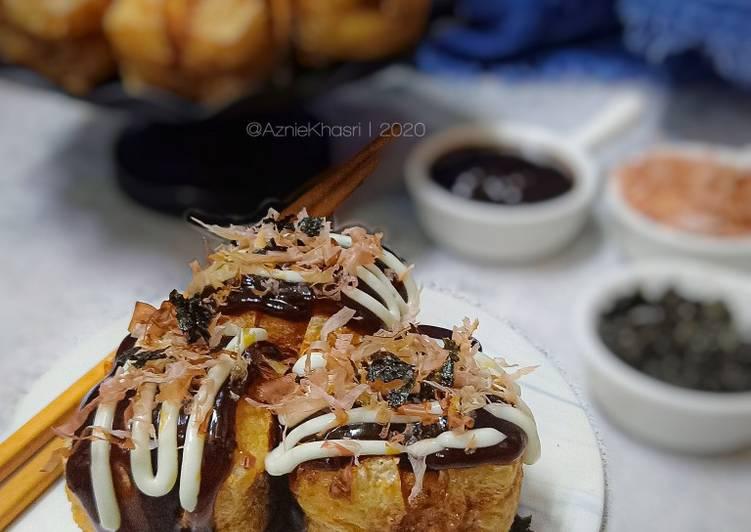 Takoyaki Mudah & Super Sedap (Vs Tauhu Bergedil)