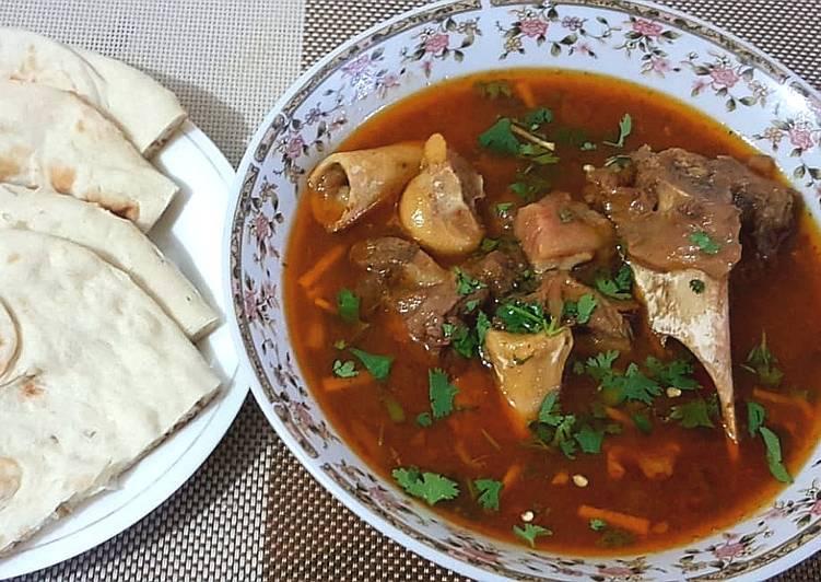 Recipe of Award-winning Mutton kunna paye