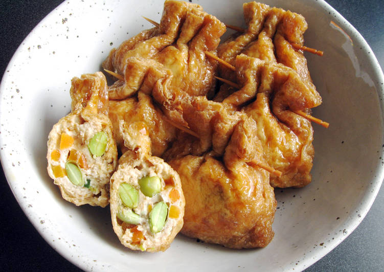 The Foods You Choose To Eat Will Certainly Effect Your Health Chicken Mince in Abura-age (Thin Fried Tofu)