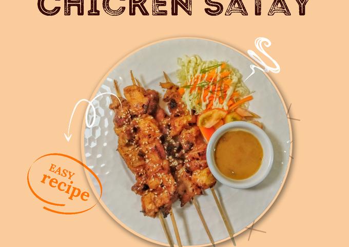 Pork and Chicken Satay
