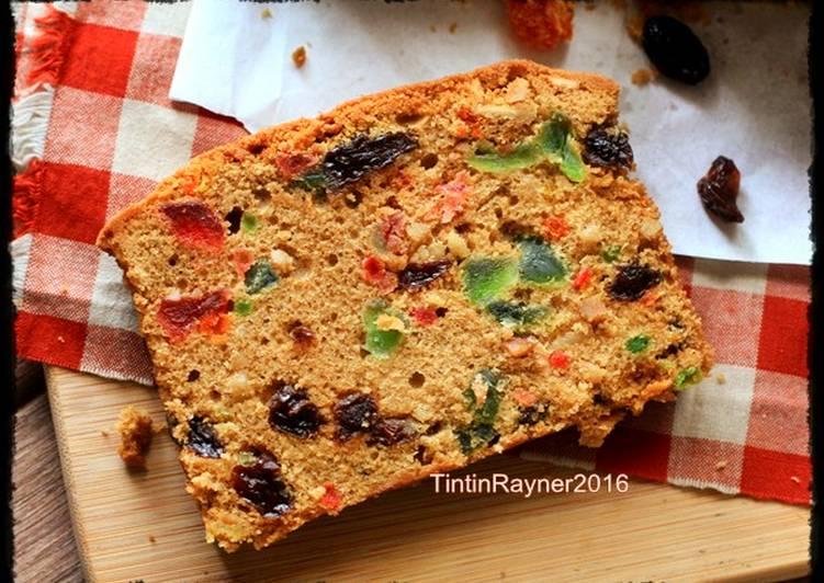Resep English Fruit Cake Classic Rich Delicious Oleh Tintin Rayner Cookpad