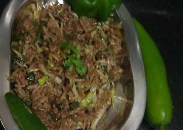 Recipe of Top-Rated Soya Rice
